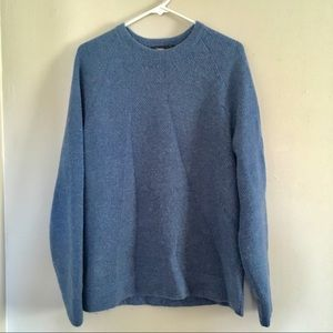 💙Theory Cashmere Blue Cozy Sweater Spring Warmth!